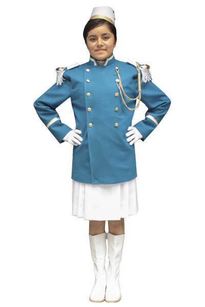 cadete paño azul turqueza